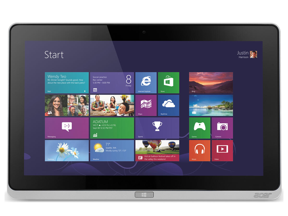 ICONIA W700-6670 WIN864 ENG/FR I3-2365M